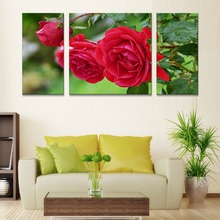 triptych nordic decoration modular painting flowers wall art canvas prints posters and prints kids room decoration nordic