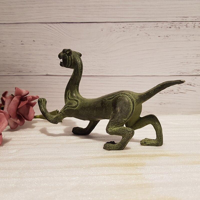Antique bronze four-beast beast (6)