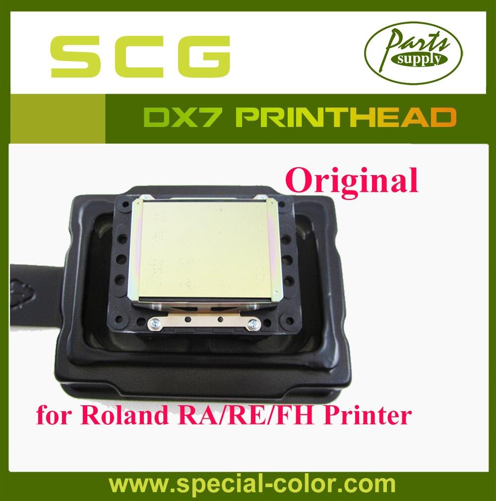 Japón DX7 disolvente cabezal de impresión Original para Epson DX6 cabeza de impresión para Roland VS/RA/FH