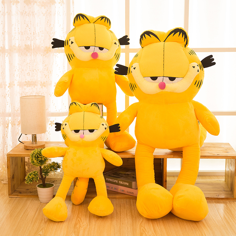 2017 40 110cm Huge Big Large Hot Sale Garfield Cat Plush Stuffed Toy