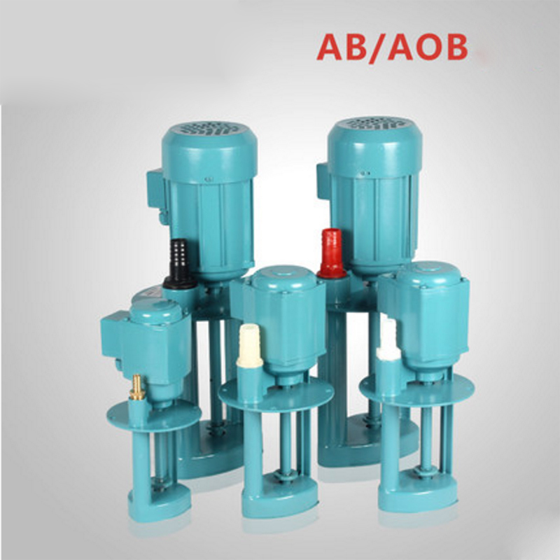 AB-25/90W 380v three phase vertical coolant pump for lathe machine cooling water pump low price coolant pump for lathe machine lathe coolant pump