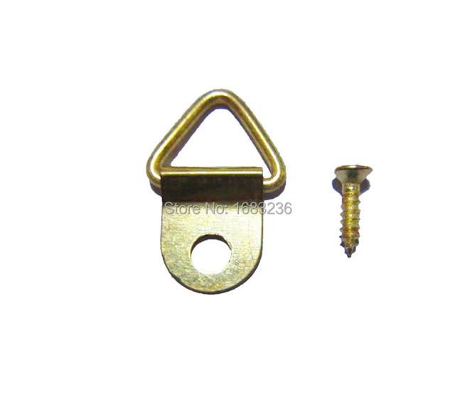 Aliexpresscom Buy 100pc Golden Triangle Hanging D Ring