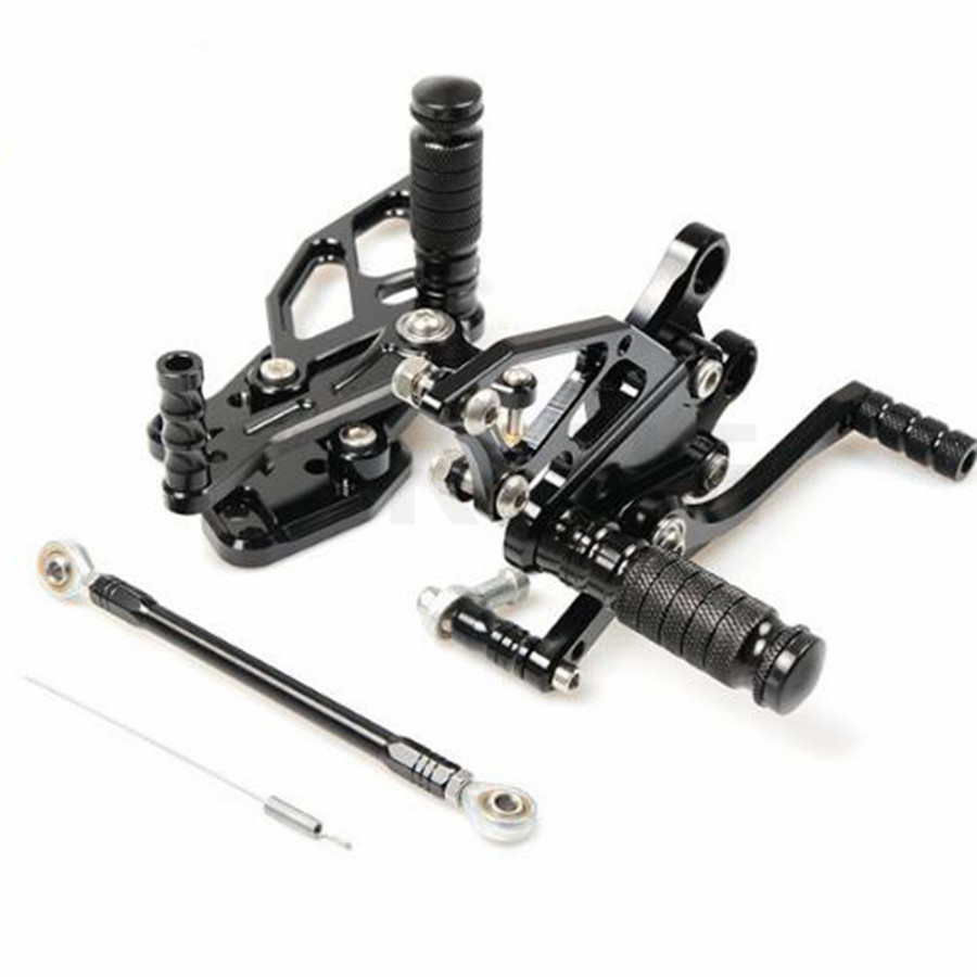 FOR Sale Motorbike CNC Adjustable Rider Rear Sets Rearset Footrest Foot Rest Pegs For Yamaha YZF R3 R25 2014 2015 2016 14 15 16