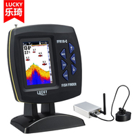 Lucky FF918CWLS Wireless Fish Finder With 3 5 Inch LCD Operation Echo Detecting 328ft 100m Depth