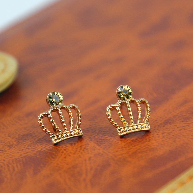 New Fashion jewelry rose gold Colour design stud for women girl lovers gift e0168