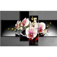Crafts Diamond Stitch DIY Diamond Rhinestone Mosaic Painting Cross Stitch Diamond Painting Dream Flower 4 Pcs