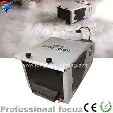 Бесплатная доставка 3000 Вт Низкий Туман Машина, Пульт Дистанционного Управления Земле Дым-Машина