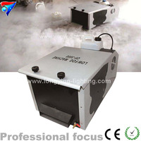 O envio gratuito de 3000 W Baixo Máquina de Fumaça, Controle Remoto Máquina de Fumaça Chão