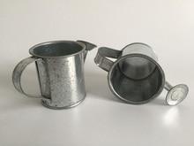 30 개/몫 D5.5XH5.5CM 은빛 미니 물을 깡통 결혼식 호의 양동이 주석 금속 호의 장식 물을 깡통