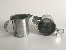 30 pcs/lot D5.5XH5.5CM argenté Mini arrosoirs faveurs de mariage seau étain métal faveurs arrosoirs décoratifs