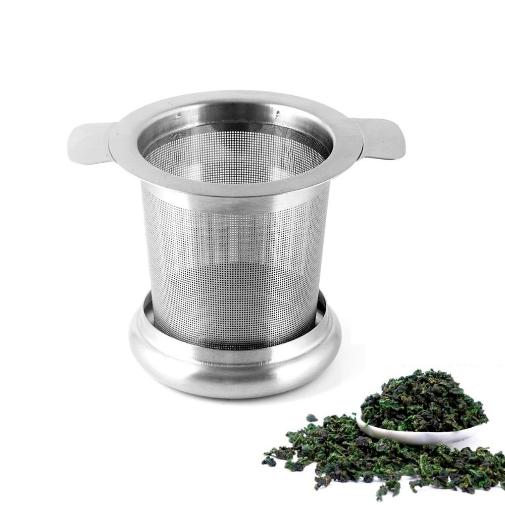 Stainless Steel-Fine Mesh Filter Tea Infuser Fine Reusable Strainer Tools Hot