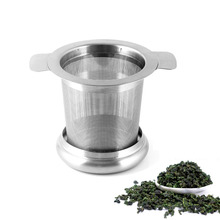 Newcomdigi Stainless Steel Tea Infuser Basket Fine Mesh Reusable Tea Filters with