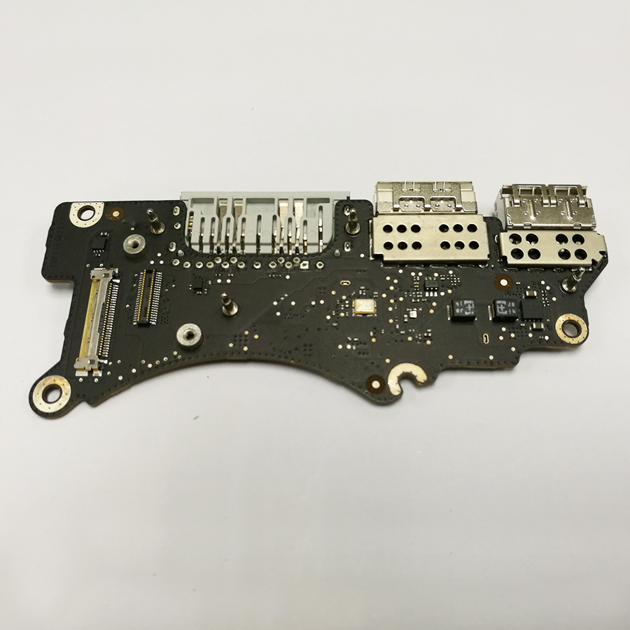 Genuine Laptop 820-5482-A 661-02535 I/O USB SDXC Board For Macbook Pro 15 A1398 Retina 2015 i o board usb sd card reader board 820 3071 a 661 6535 for macbook pro retina 15 a1398 emc 2673 mid 2012 early 2013