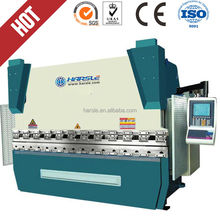 hydraulic synchronized nc press brake cnc plate bending machine for sale WC67K 80 2500