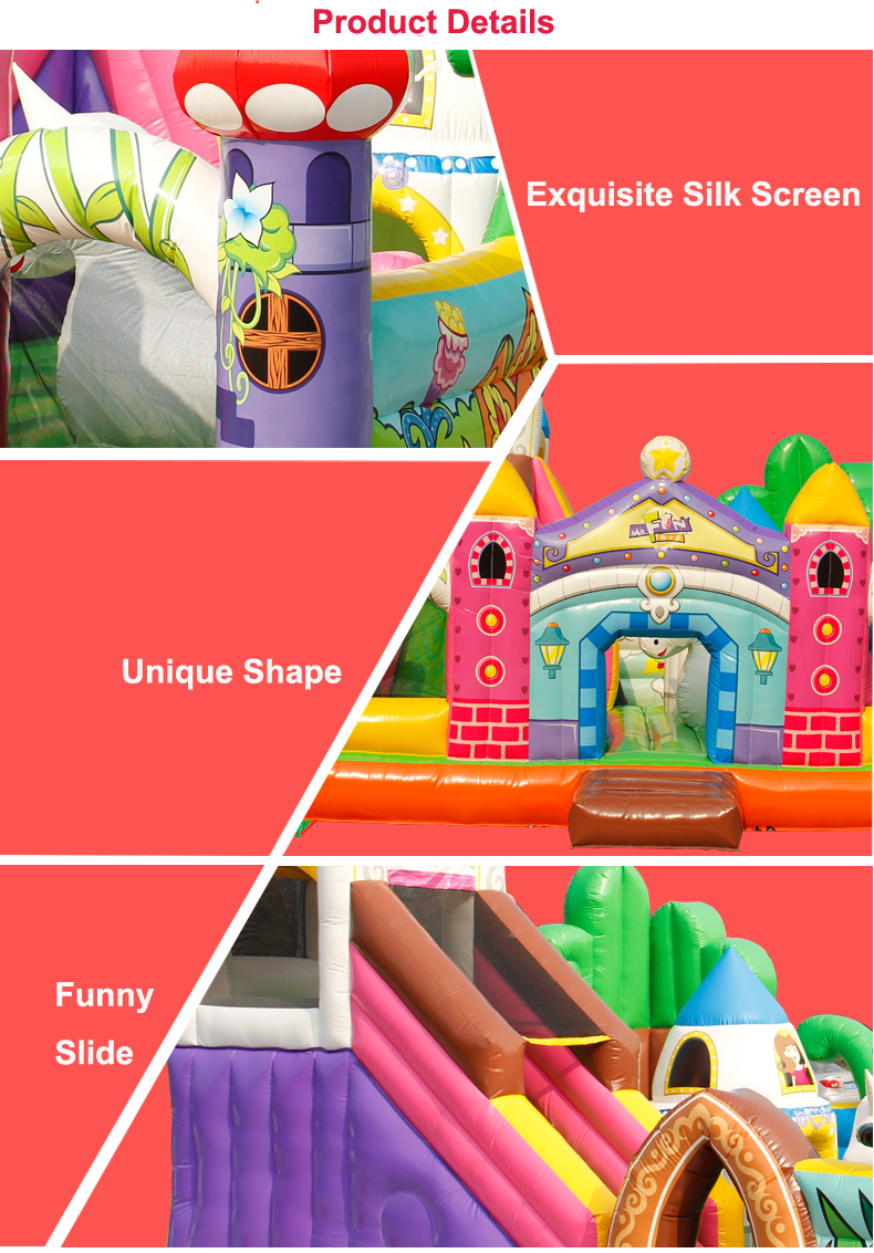 HTB1ZiEVcoF7MKJjSZFLq6AMBVXai - You-Toys Huge Commercial Bouncy Inflatable Castle House Magic Garden Bounce House Kids Playground