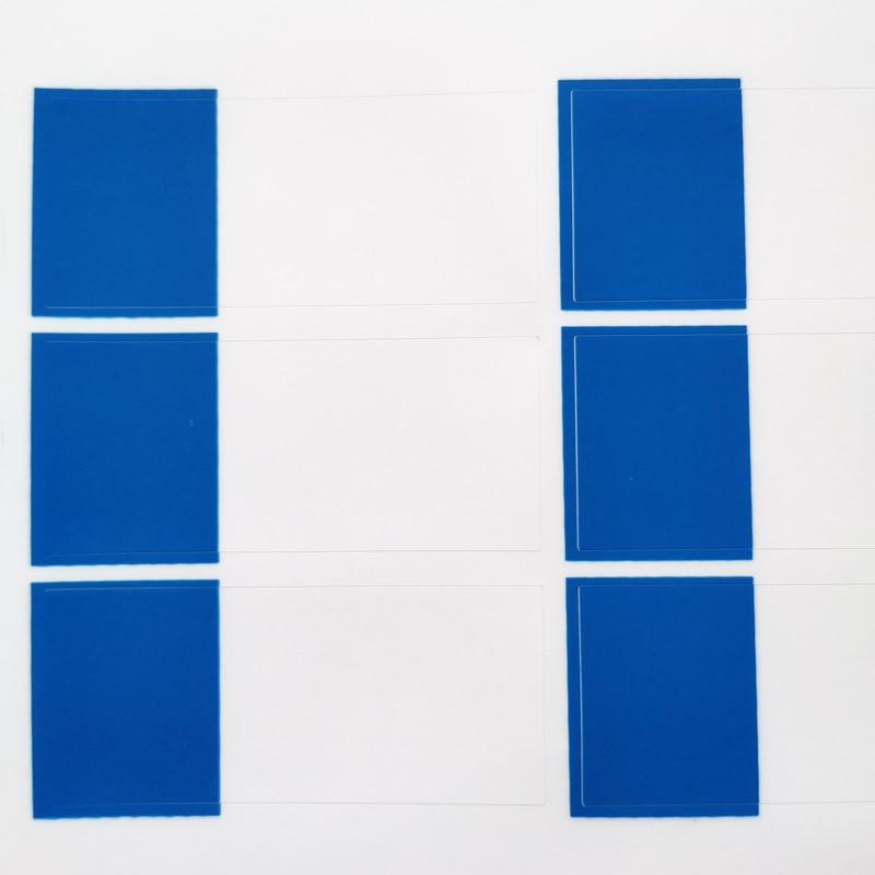 270 шт./лот 58x25 мм Рука обмотки сети наклейки на сетевой кабель, водонепроницаемый и прочный для когда-либо использования, пункт № HT05 - Цвет: blue