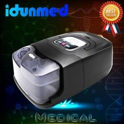 Bmc auto cpap máquina apap dispositivo de viagem portátil cpap automático com máscara mangueira filtro ar umidificador para sono apneia ronco