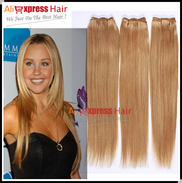 Blond color 27 brazilian human hair bundles straight virgin human blond color 27 brazilian human hair bundles straight virgin human hair weaves human color 27 blonde brazilian hair bundles in hair weaves from hair pmusecretfo Image collections