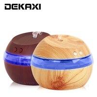 DEKAXI 290 ml Mini Umidificador de Ar Ultra Aroma Difusor do Óleo Essencial Difusor Névoa Maker para Casa e Carro