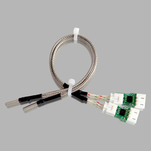 3 pieces/ lot New k-type thermocouple with cables and pinboard CreatBot FDM Printer Accessory /Parts  dual extruder printer