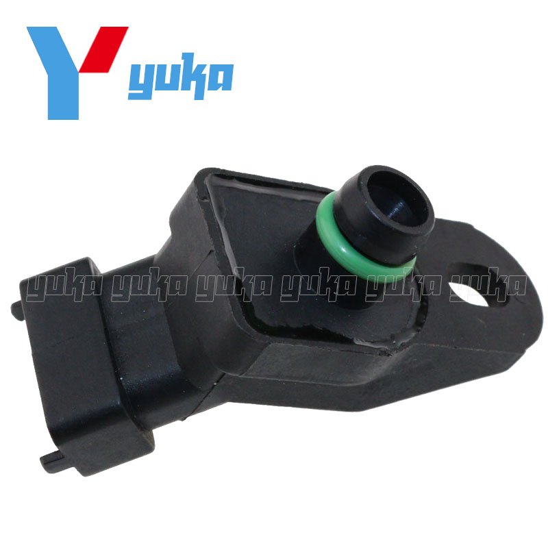 100% Test MAP Sensor Intake Air Boost Pressure Manifold Absolute Druck  Sender For Opel Omega B 2.5 DTI 2001-2003 51678a497fa60