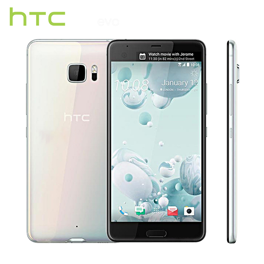 HTC U Ultra 2017 4g 64g Mobile Téléphone Snapdragon 821 Quad Core 5.7 16MP + 12MP Caméra