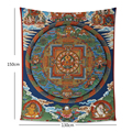 Mandala Elephant Tapestry Indian Bohemian Throw Colored Printed Decorative  Blanket Dorm Decor Wall Hanging 130x150cm 150x200cm