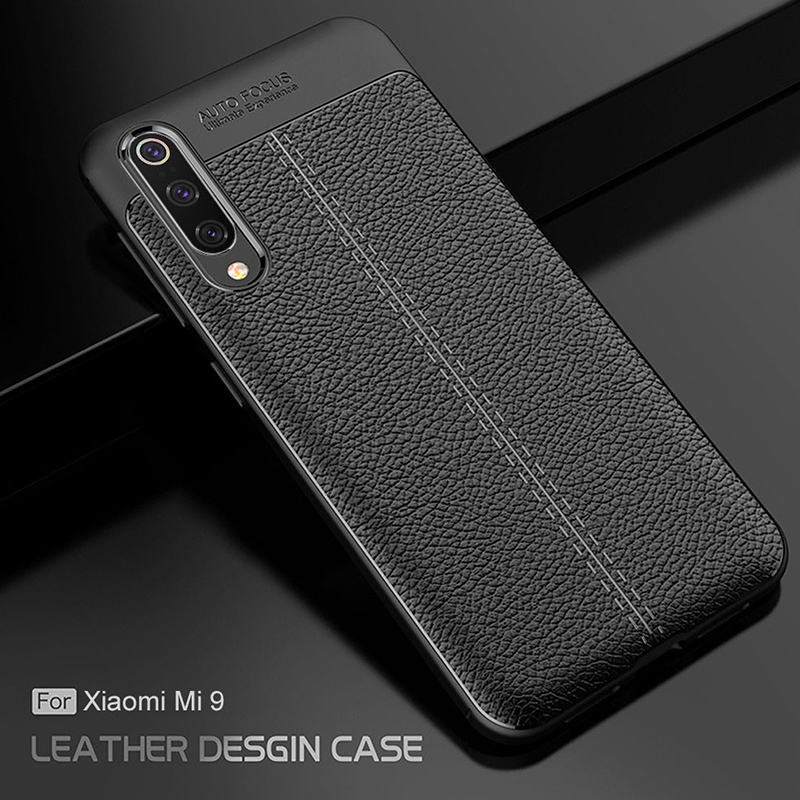 For Xiaomi mi 9 SE Case Ultra-thin Leather Soft TPU Silicone Phone Case Cover For Xiaomi mi9 mi 9 Lite CC9 Shockproof Fundas image