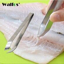 Stainless Steel Tongs Metal Fish Hair Remover Kitchen Stubbs Fishbone Fur Bones Clip Tong Animal Pliers Barbecue Ferramentas