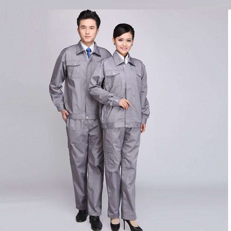 (10 Set-Shirt&Pant)Men Long Sleeve Dress Suit Motor Repair Labor Insurance Clothing Can Be Customized Engineering Uniform Suit