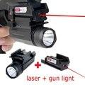 Red Dot Laser Anblick Tactical LED Taschenlampe Combo Jagd Zubehör für Pistole Pistolen Glock 17 19 20 21 22 23 30 31 32 Laser Sport und Unterhaltung -