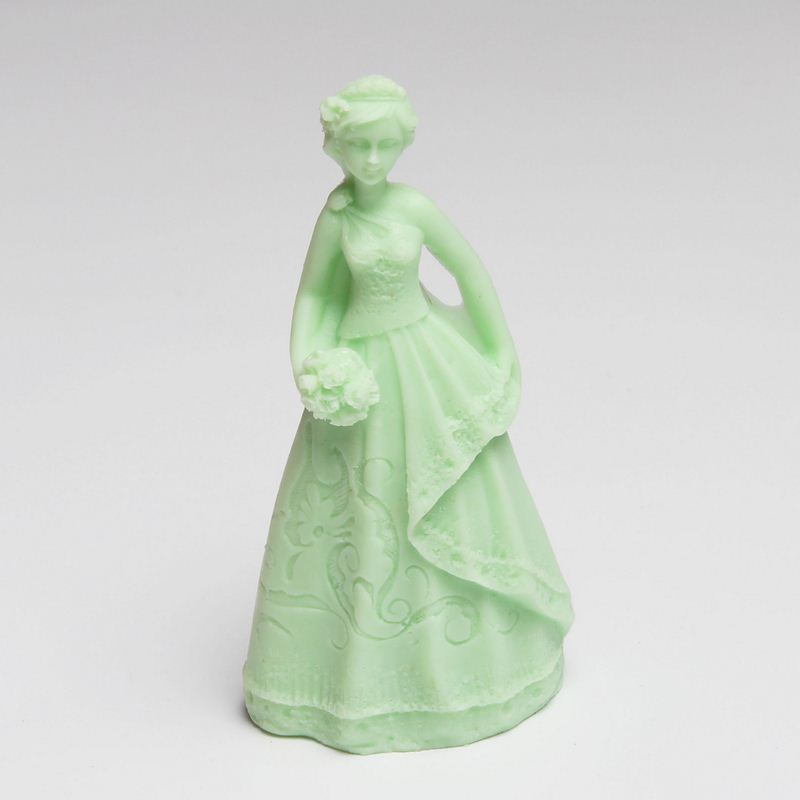 Wedding girls silicone mold cake decoration fondant Art Soap Making Silicone mould ...