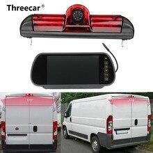 LED IR Luce di Freno Vista Posteriore di Retromarcia Telecamera di Parcheggio e 7 Pollici Monitor Kit per Fiat Ducato Per Citroen Relay per Peugeot Boxer