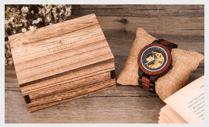 HTB1ZiGSVNTpK1RjSZFMq6zG VXao Personalized Customiz Watch Men BOBO BIRD Wood Automatic Watches Relogio Masculino OEM Anniversary Gifts for Him Free Engraving