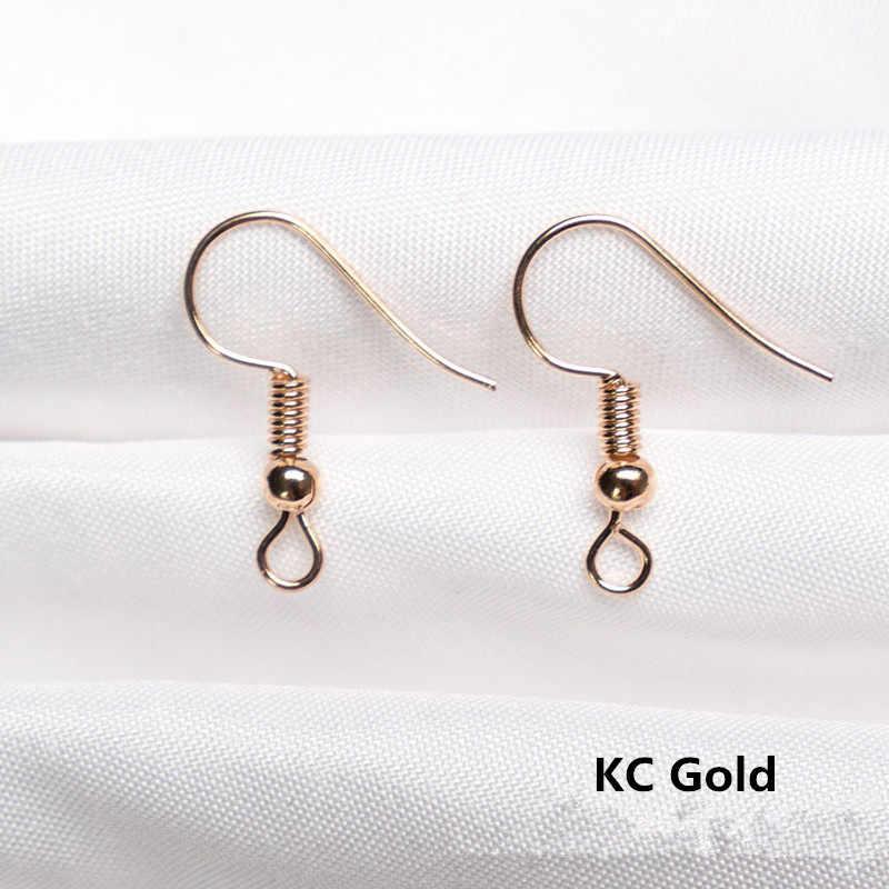 Kolczyki Ear hook อุปกรณ์เสริม diy handmade เครื่องประดับต่างหูลูกปัดฤดูใบไม้ผลิ pendientes ง่ายหูตะขอสำหรับผู้หญิง oorbellen