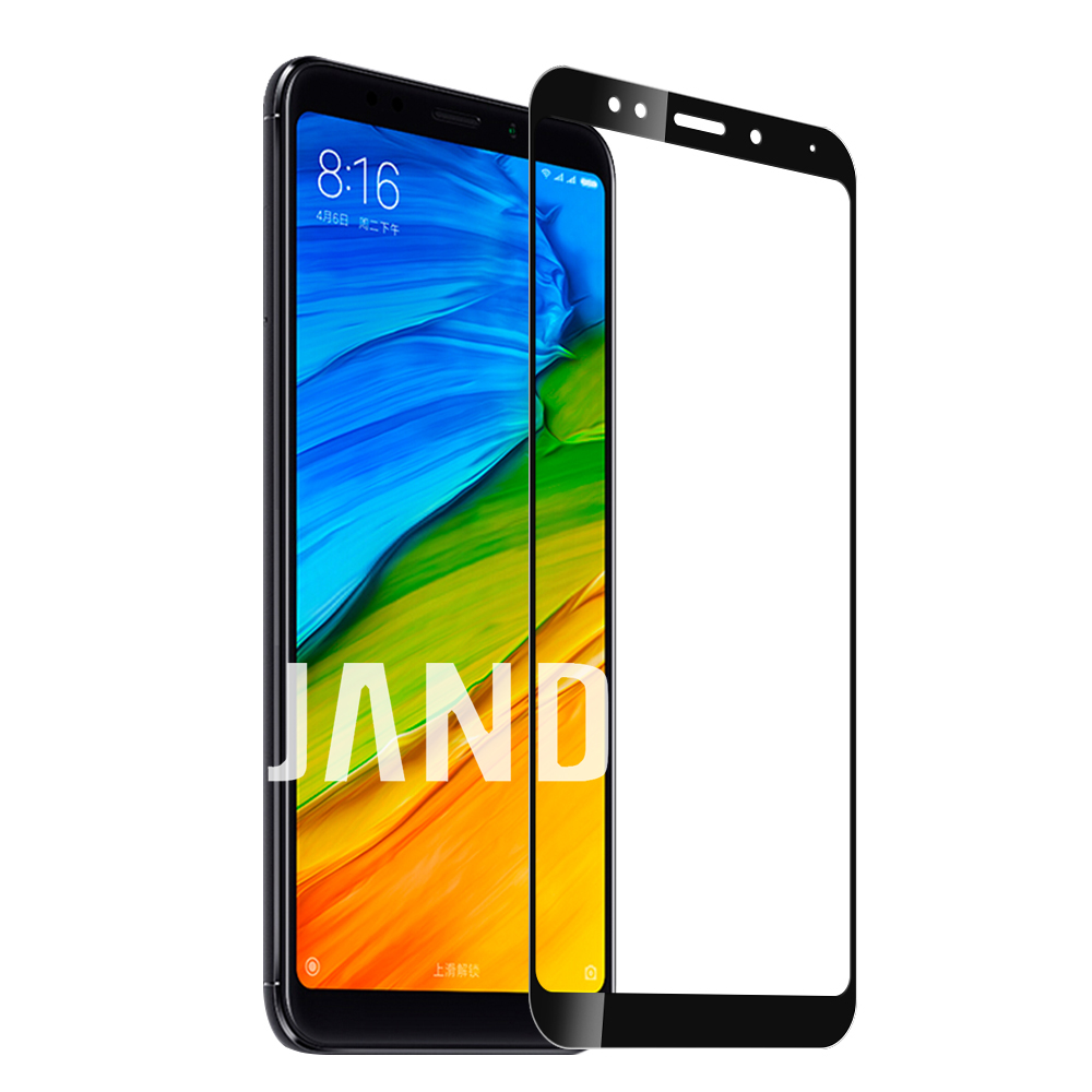 for xiaomi redmi 4 4A 4X 5 plus 5A NOTE 4 4X 5 5A PRO screen protector tempered glass full cover case accessaries