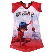 Summer kids dress milagrosa mariquita dupain cheng cosplay vestidos v-cuello de la ropa del niño(China (Mainland))