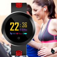 Blood Pressure Monitoring Health Sports Watch Men Multi function Smart Watches Women Bracelet LED Touch Screen IP68 Smart Clock
