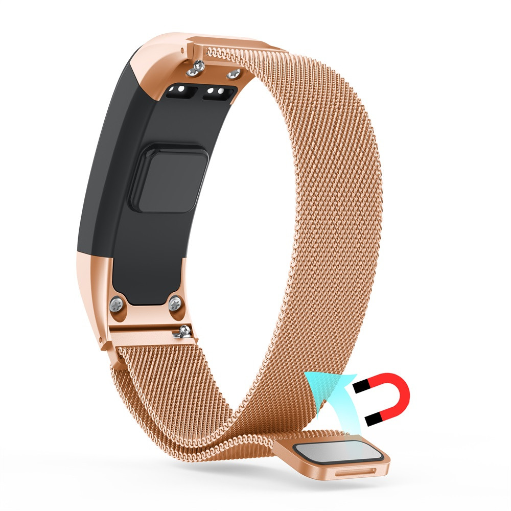 Milanese Stainless Steel Watch Band Strap Magnetic Loop Keeper Replacement Tool Kit For Garmin VIVOsmart HR 6J12 Drop ShippingMilanese Stainless Steel Watch Band Strap Magnetic Loop Keeper Replacement Tool Kit For Garmin VIVOsmart HR 6J12 Drop Shipping