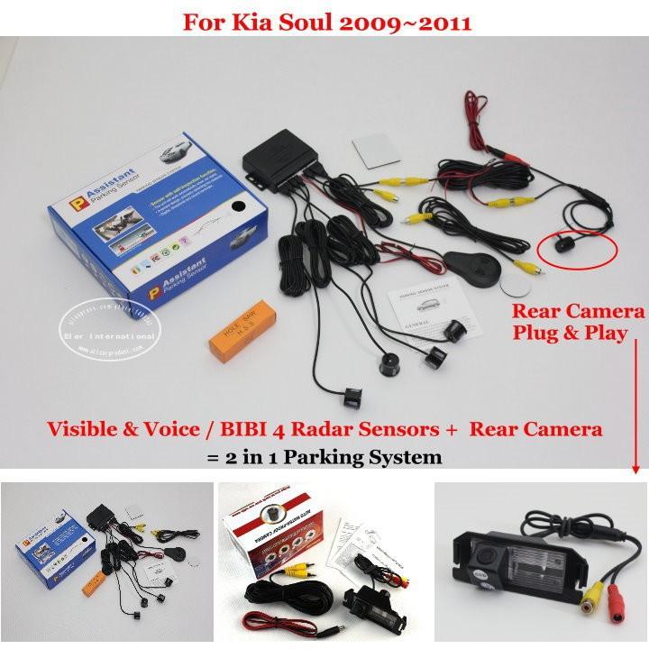 Kia Soul 2009~2011 parking system