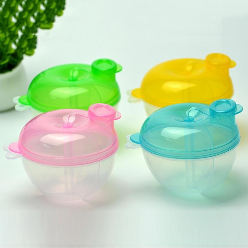 Baby Kids Feeding Series Portable Use Milk Powder Food Container Storage Feeding Box Safe Material 1PC