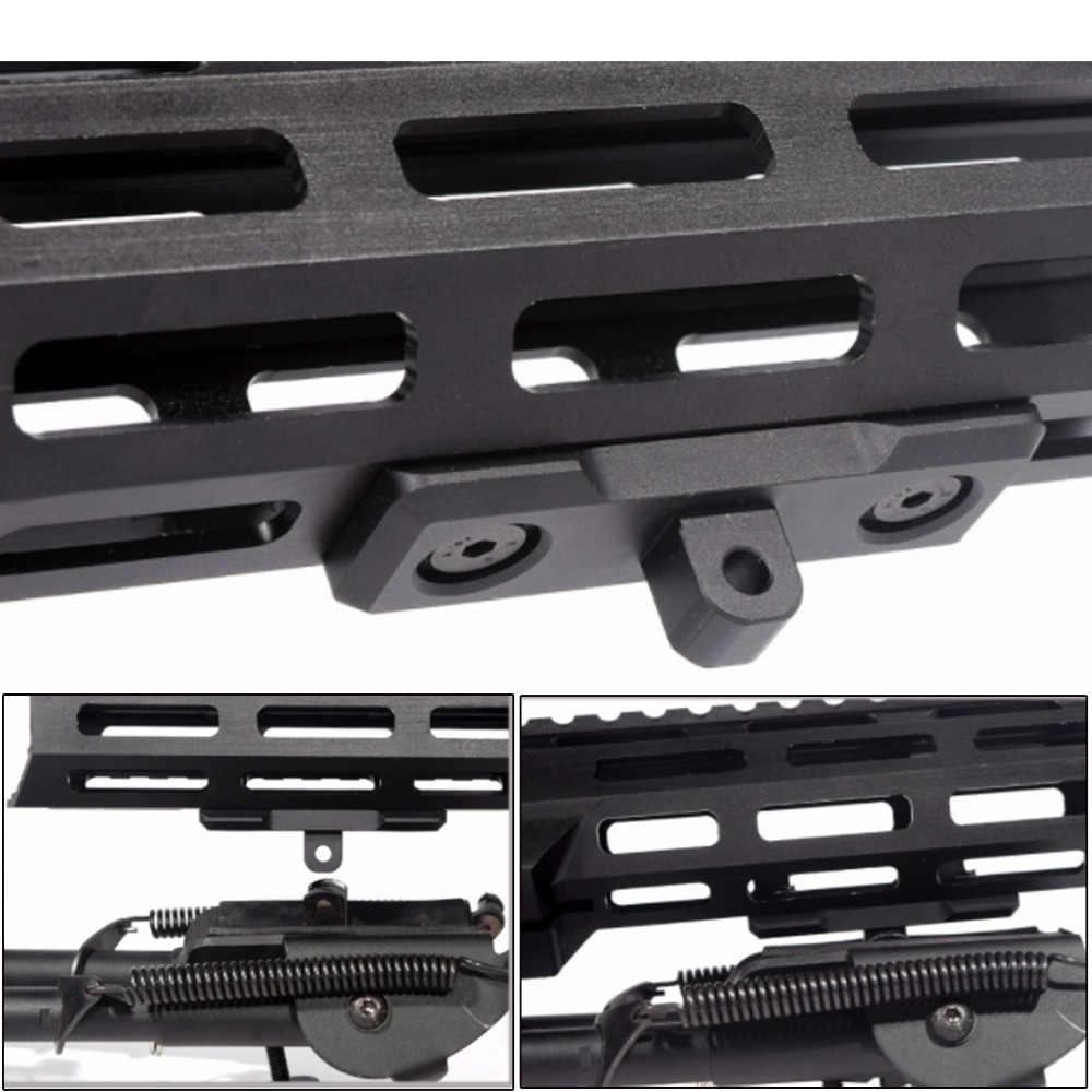 YE für Harris Sling Stud Aluminium M-Lok Adapter für Zweibeinmontage