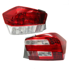 For Honda City 08-14 model year taillight assembly after the lights around brake lamp shell lampshade 2pcs