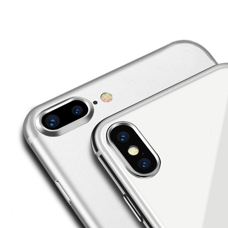 Anti Scratch Achter Terug Camera Lens Guard Cirkel Metalen Ring Protector Case Cover Bumper Bescherming For iphone 7 8 GHMY