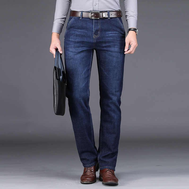 Jeans Men Male Jean Homme Mens Men'S Classic Fashions Pants Denim Biker Luxe Pant Slim Fit Baggy Straight Trousers Designer