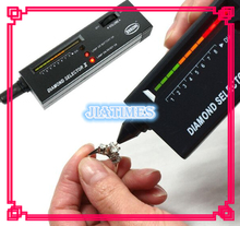 Free Shipping 1pcs Diamond Selector V2 Portable Diamond Tester with Case & Gemstone Platform