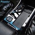BROSHOO portavasos Auto panel calcomanías etiqueta engomada del coche para hyundai sonata YF 8 auto gear superficie Brillante decoración etiqueta del coche-estilo