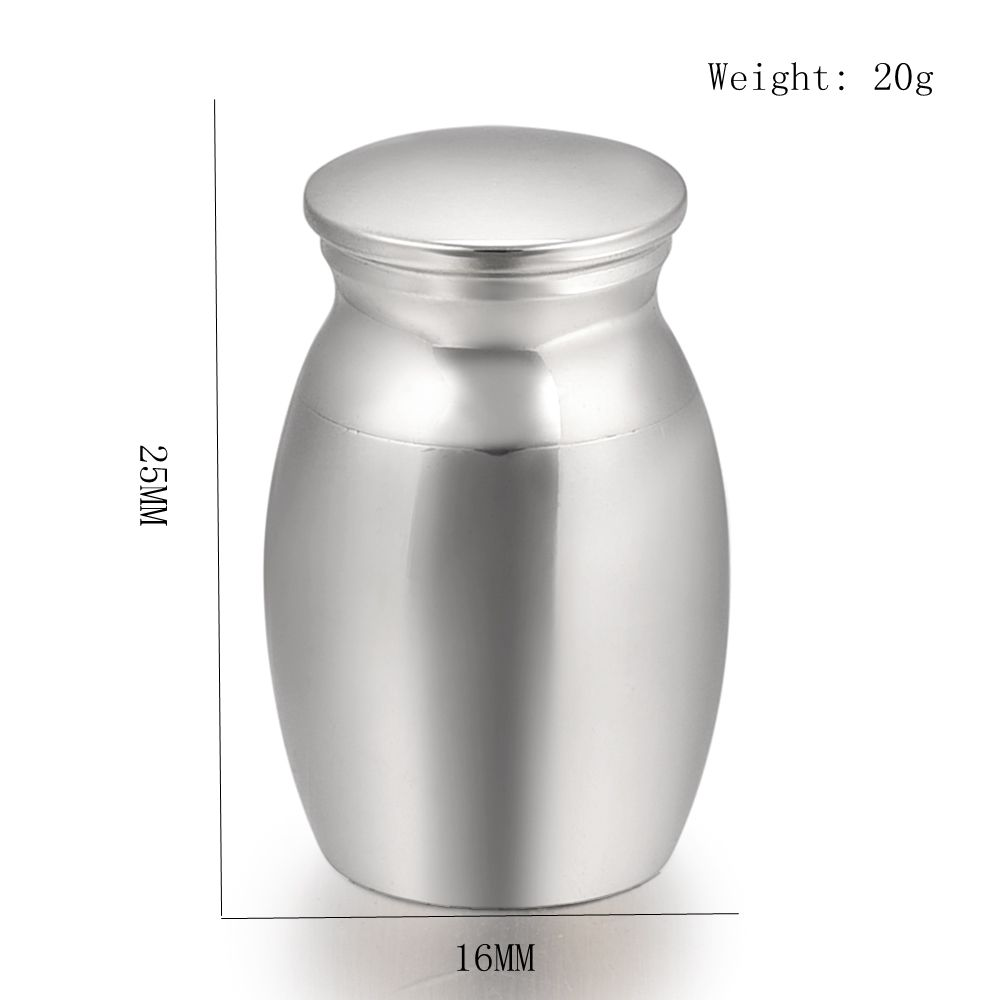 Personalized Shiny Polishing Cremation Mini Urn <font><b>Dog</b></font>/ <font><b>Cat</b></font> Ashes Holder - Funeral Urns Casket Stainless Steel Cremation <font><b>Jewellery</b></font> image