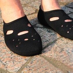 3mm neoprene curto praia meias antiderrapante mergulho oco botas de mergulho meias nadadeiras nadadeiras meias de natação wetsuit sapatos