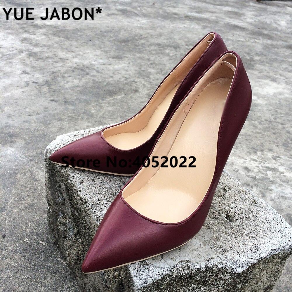 Picture Yue 3 Jabon Frauen 1 Partei 10 Zehen Frauen Schuhe Stiletto picture Fashion picture Pumpen 8 Cm Heels Spitzen High 12 pumpen 2 TTdBpnr4